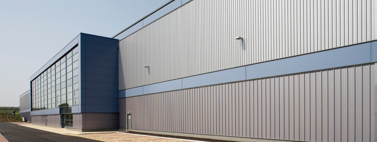 External composite cladding.